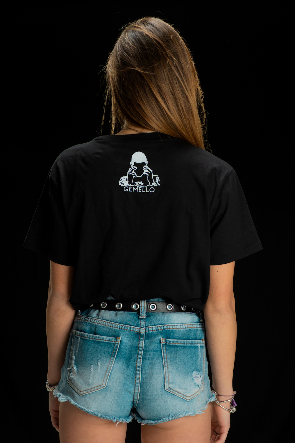 Gemello Store Official TSHIRT LUPO BLACK