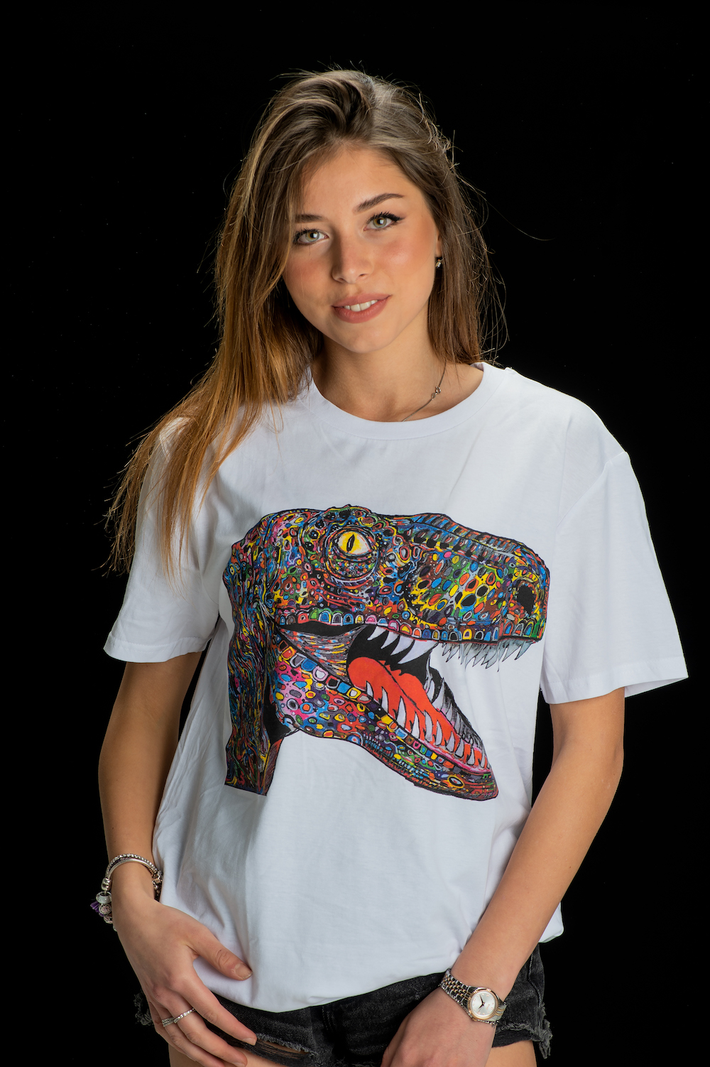 Gemello Store Official TSHIRT RAPTOR WHITE