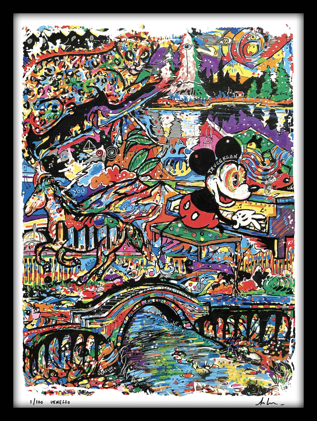 Gemello Store Official STAMPA NUMERATA TRUCEKLAN MICKEY MOUSE (100 pezzi)